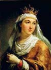 The picture is a later portrait of Maria's sister, Jadwiga of Poland