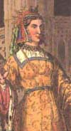 Later picture of Queen Margaret of England