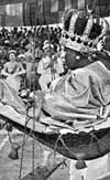 Paramount Chieftainess Woki Massaquoi of Gallinas Perri at the time of the visit of Queen Elizabeth II of Sierra Leone in 1961